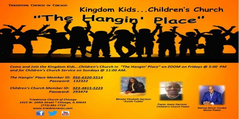 Children Church Service 11:00 AM