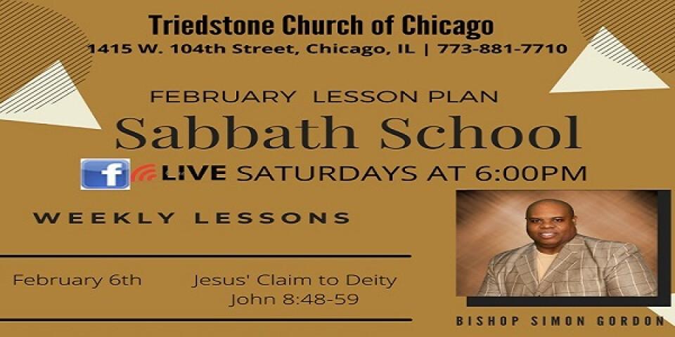 """SABBATH """"Sunday"""" School"""